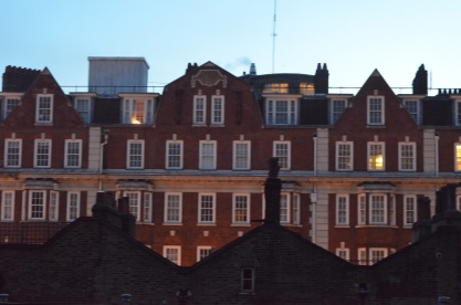 View from London apartment