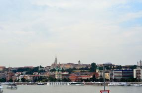 Budapest (from across the Danube)