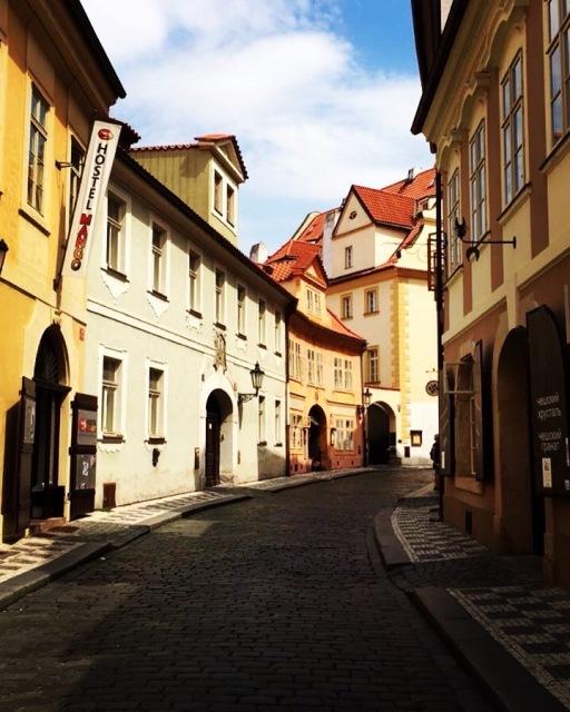 Deserted Alley (Prague)